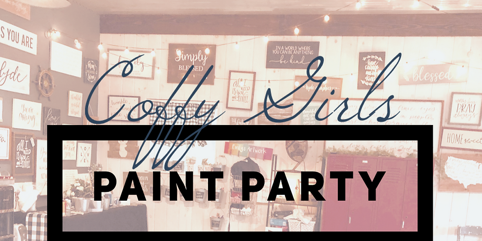 Coffy Girls Paint Party