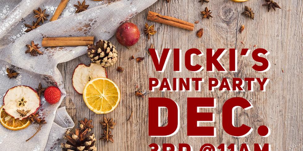 Vicki's Paint Party
