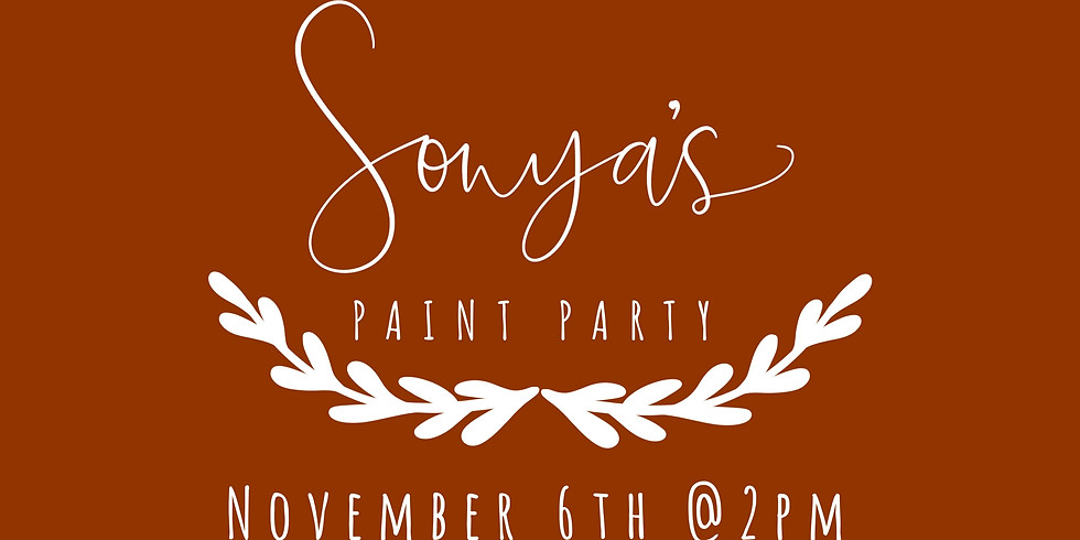 Sonya's Paint Party