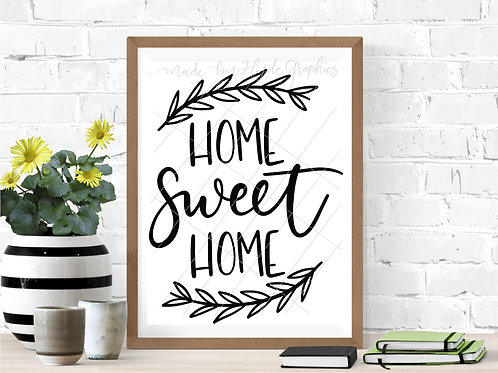 Home Sweet Home digital file