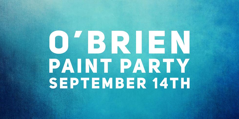 O'Brien Paint Party