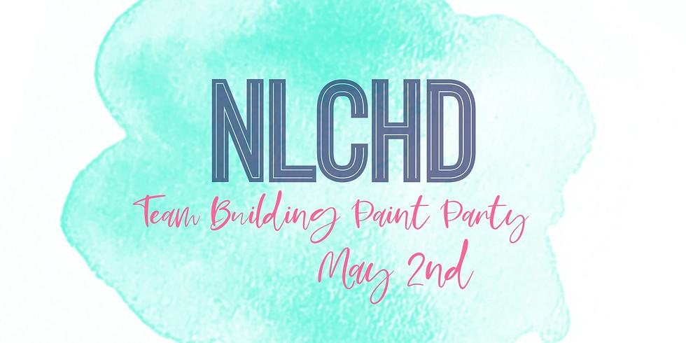 NLCHD Team Building Paint Party