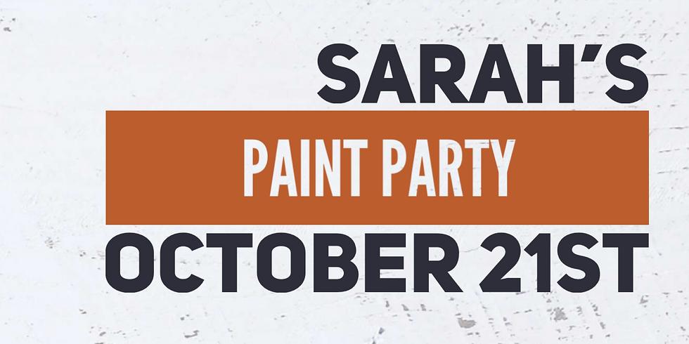 Sarah's Paint Party