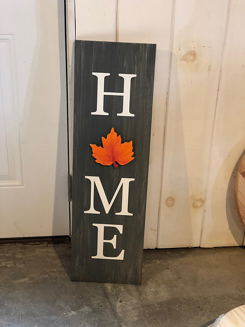 HOME seasonal sign