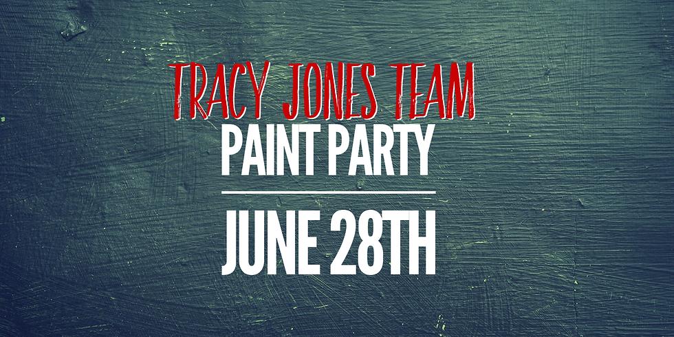 Tracy Jones Team Paint Party