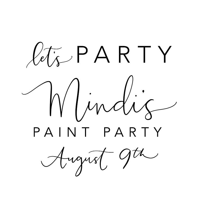 Mindi's Paint Party