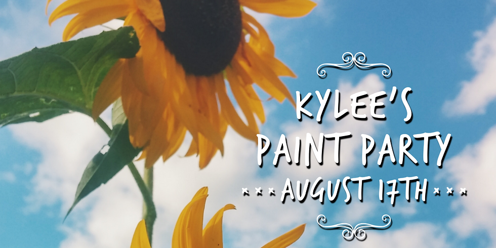 Kylee's Paint Party