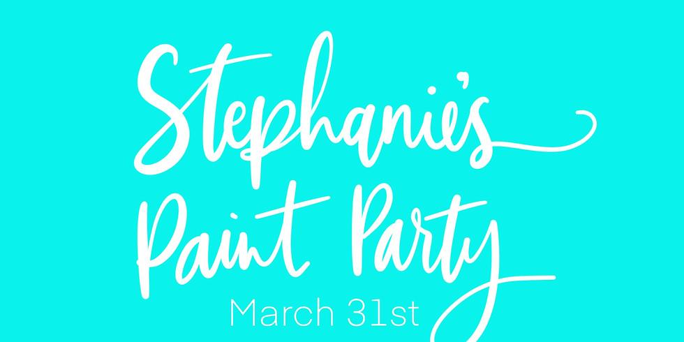 Stephanie's Paint Party