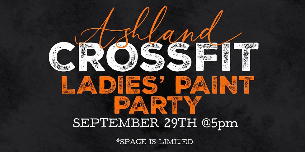 Ashland CrossFit Ladies' Paint Party