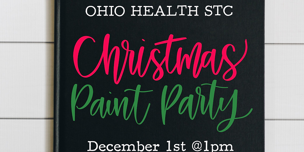 Ohio Health's STC Christmas Paint Party