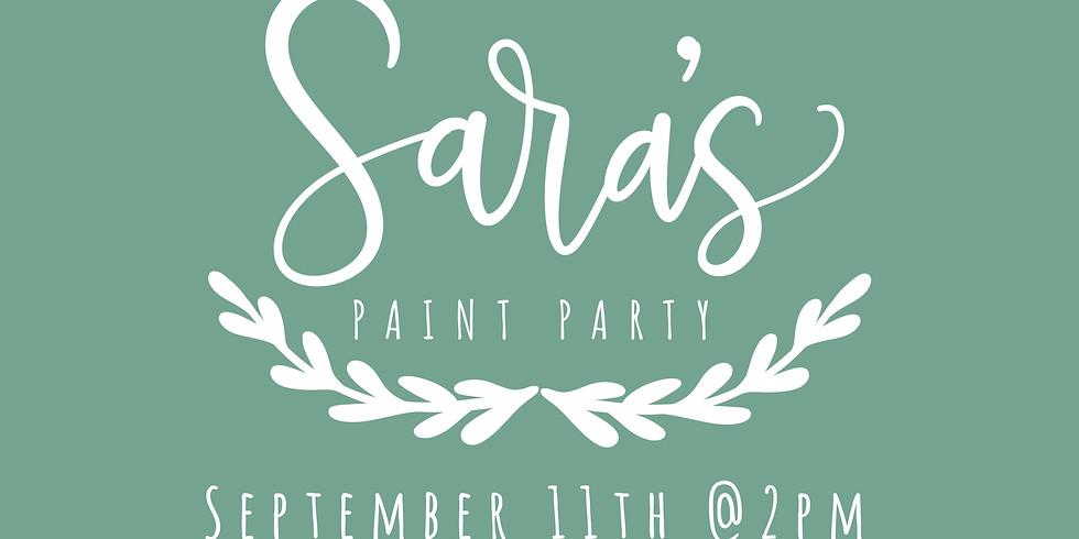 Sara's Paint Party