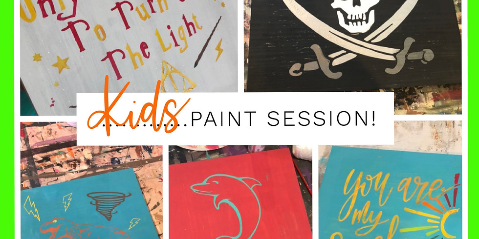 Kid Paint Session July 2nd