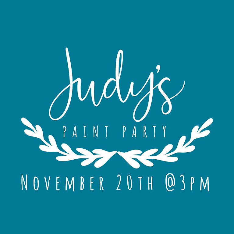 Judy's Paint Party