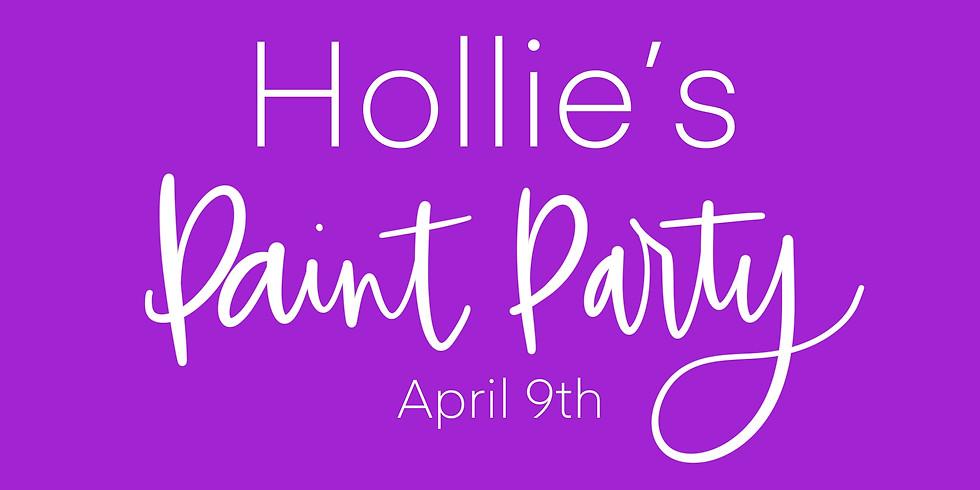 Hollie's Paint Party