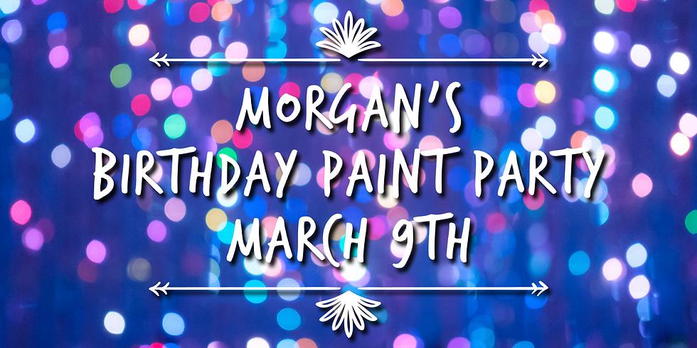 Morgan's Birthday Paint Party