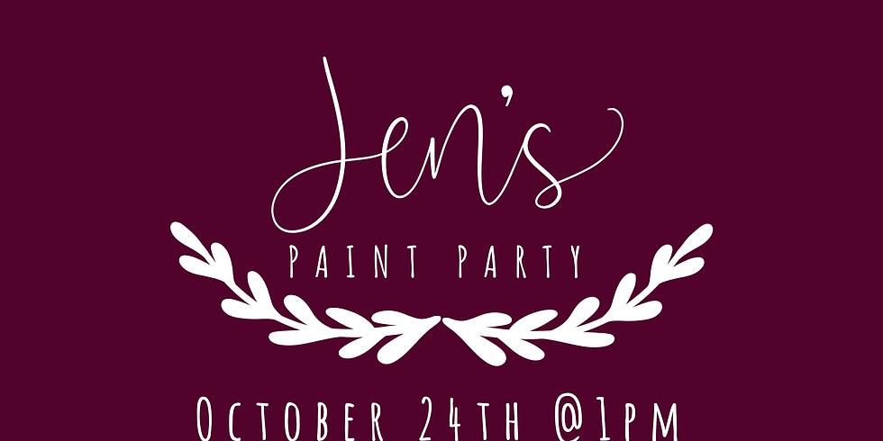 Jen's Paint Party