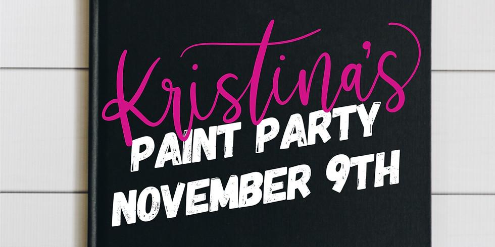 Kristina's Paint Party