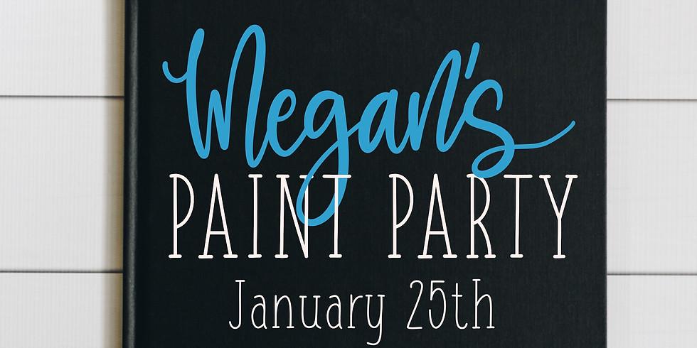 Megan's Paint Party