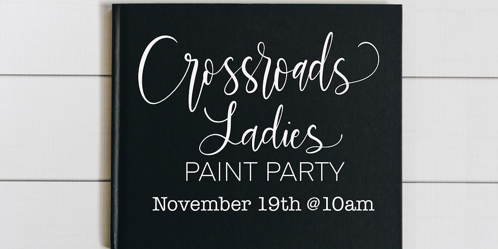 Crossroad Ladies Paint Party