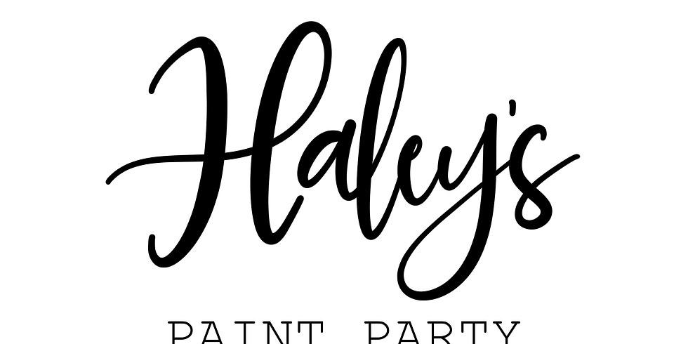 Haley's Paint Party