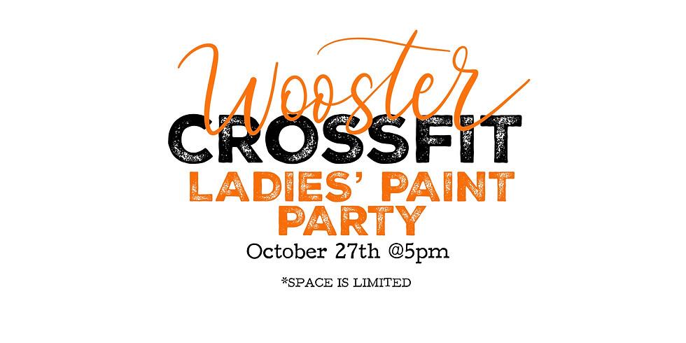 Wooster CrossFit Ladies Paint Party