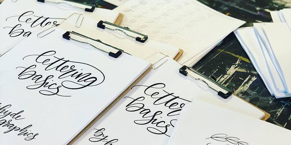 Lettering Basics Workshop September 7th