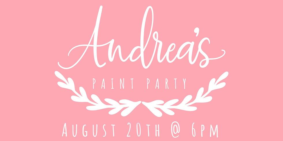 Andrea's Paint Party