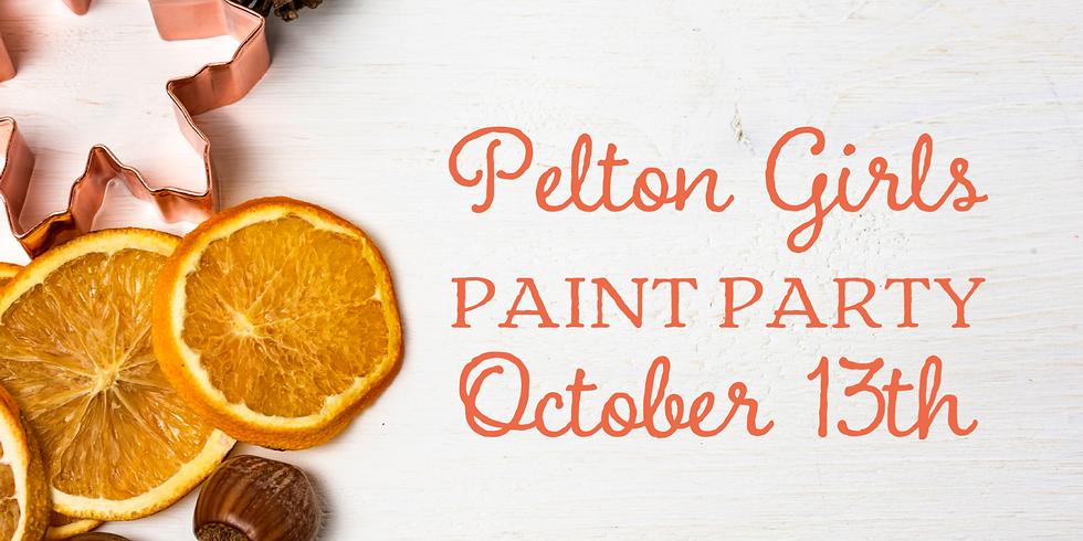 Pelton Girls Paint Party