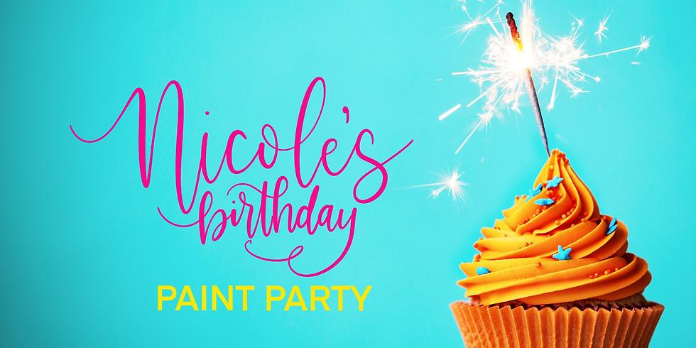 Nicole's Birthday Paint Party