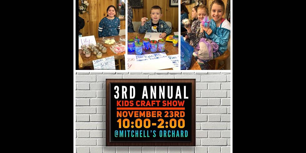 Kids' Craft Show November 23rd