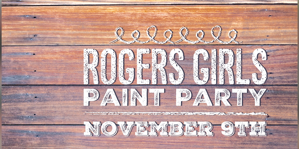 Rogers Girls Paint Party