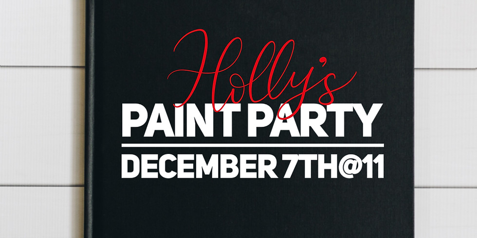 Holly's Paint Party