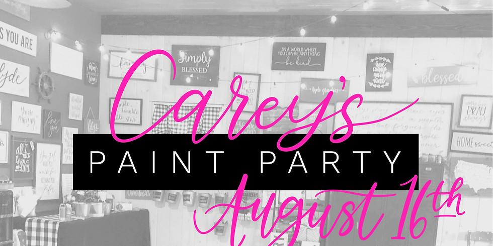 Carey's Paint Party