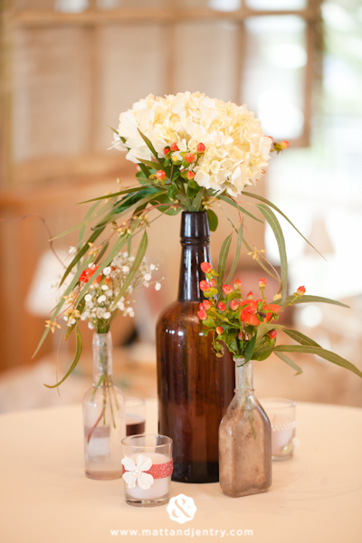 Eclectic Centerpiece Style