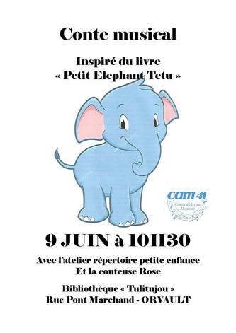 Le petit éléphant têtu - Père Castor