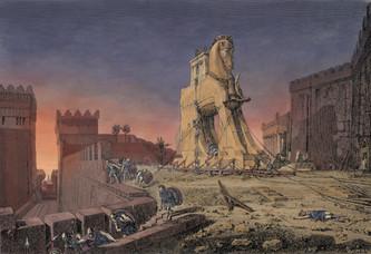 Série mythologie 2019: Ulysse - Guerre de Troie