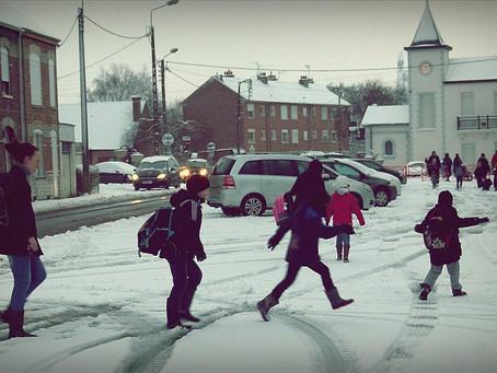 Walking to School: Not as Easy as it Sounds