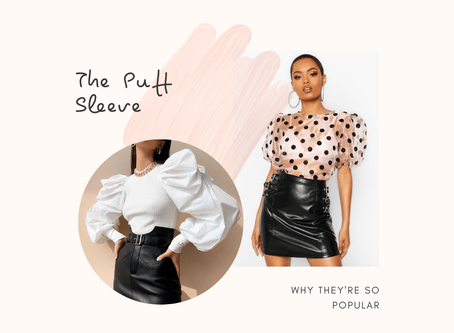 Puff Sleeve Power - Why This Trend is Still in Vogue.