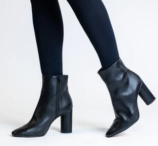 Allkind Vegan heeled ankle boots.
