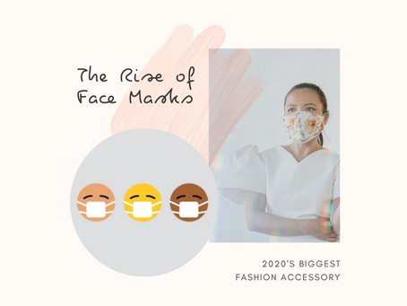 Face Masks: The Unexpected Fashion Accessory Of 2020.