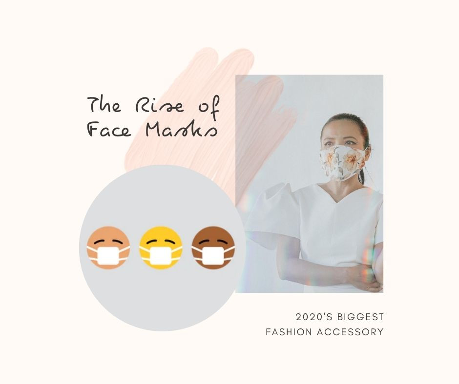 Fashion face masks - 2020s biggest fashion trend.