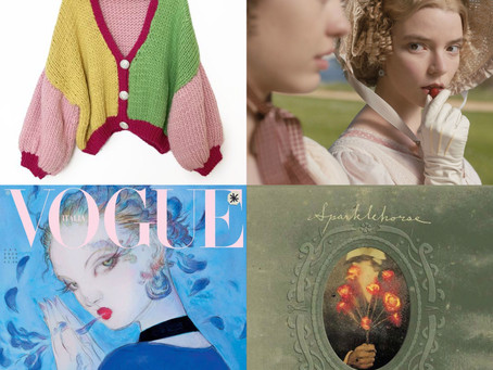Colossal Jumpers, Pastel Period Dramas, Elusive Illustrations & More.