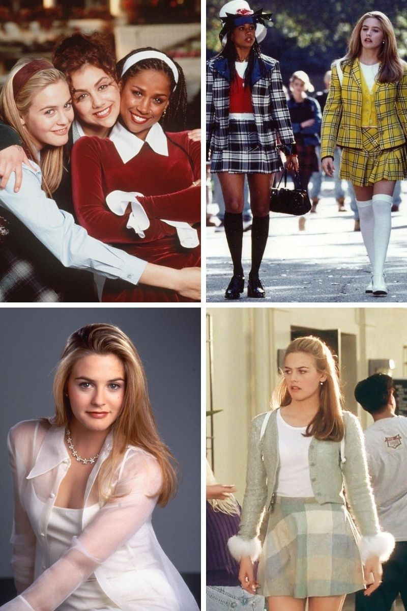 Stills collage of Amy Heckerling's Clueless.