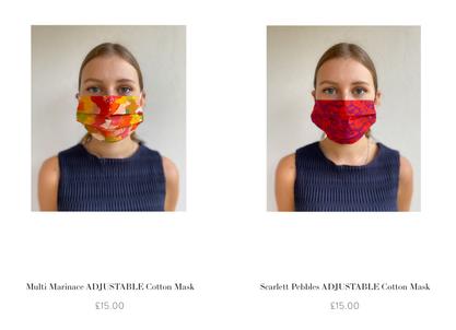 Isabel Manns face masks
