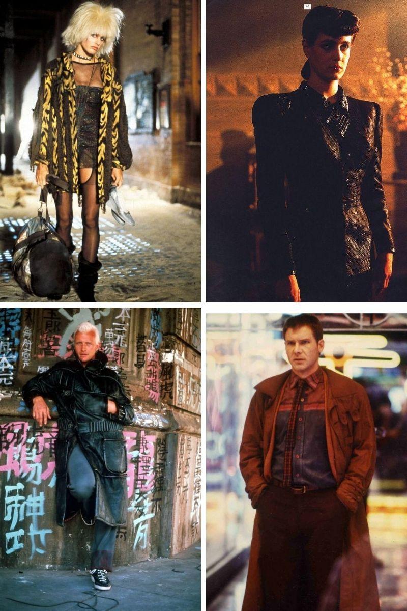 Stills collage from Ridley Scott's Blade Runner.