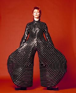 David Bowie As Ziggy Stardust in Kansai Yamamoto's Tokyo Pop Jumpsuit