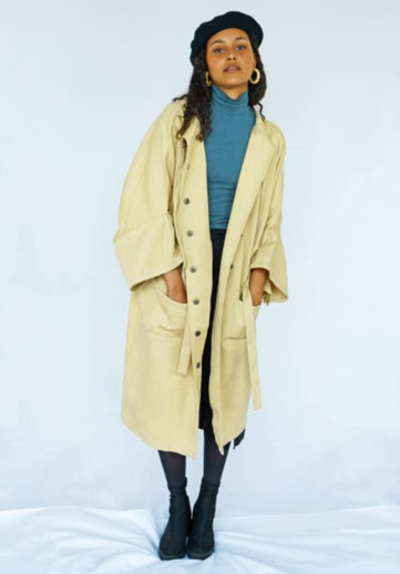 Solai Sustainable Trench Coat