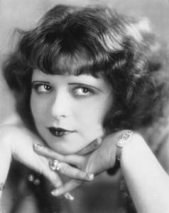 Clara Bow, dreamy expression