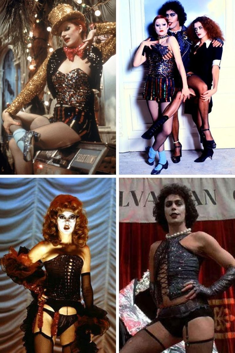 Stills collage from Jim Sharman's The Rocky Horror Picture Show.