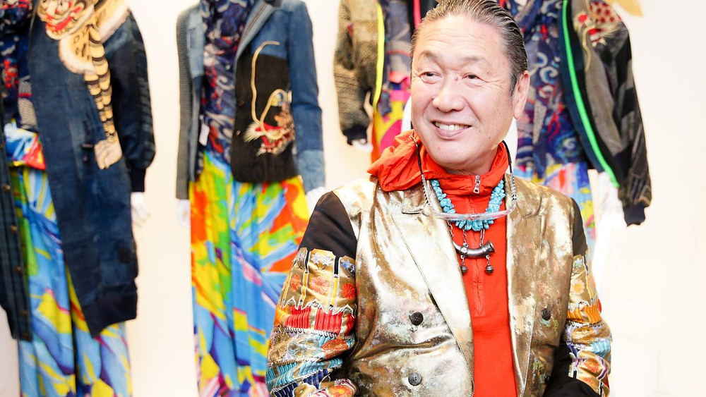 Welcome to Kansai Yamamoto's lively & Colourful World